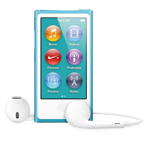 Apple iPod nano 16gb 7th gen md477qb/a blue Grade A