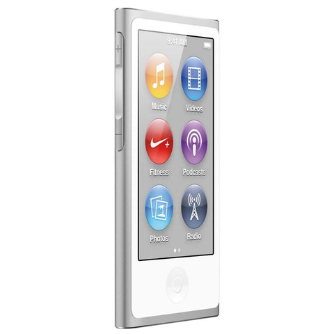 Apple iPod nano 16gb 7th gen md480qb/a silver Grade B
