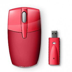 Belkin F5L017NGUSB-RED wireless optical mouse USB red