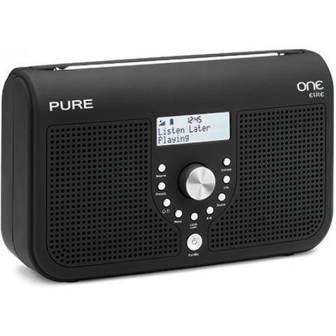Pure One Outlet Elite black DAB portable radio VL-61035