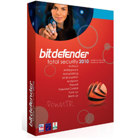 BitDefender Total Security 2010 1 user 1 year download