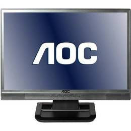 "AOC 16 inch LCD TFT monitor 1619SWA 4000:1 8ms VGA 15.6"" speakers"