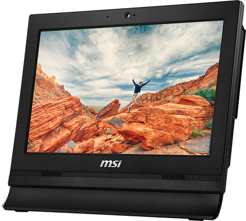"MSI PRO 16T 7M-023XEU AIO Intel Celeron 3865U 4Gb 500Gb 15.6"" Touchscreen No OS"