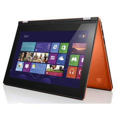 "Lenovo Yoga 2 11 11.6"" convertible laptop N3520 quad 4Gb 500Gb Orange Windows 8.1"