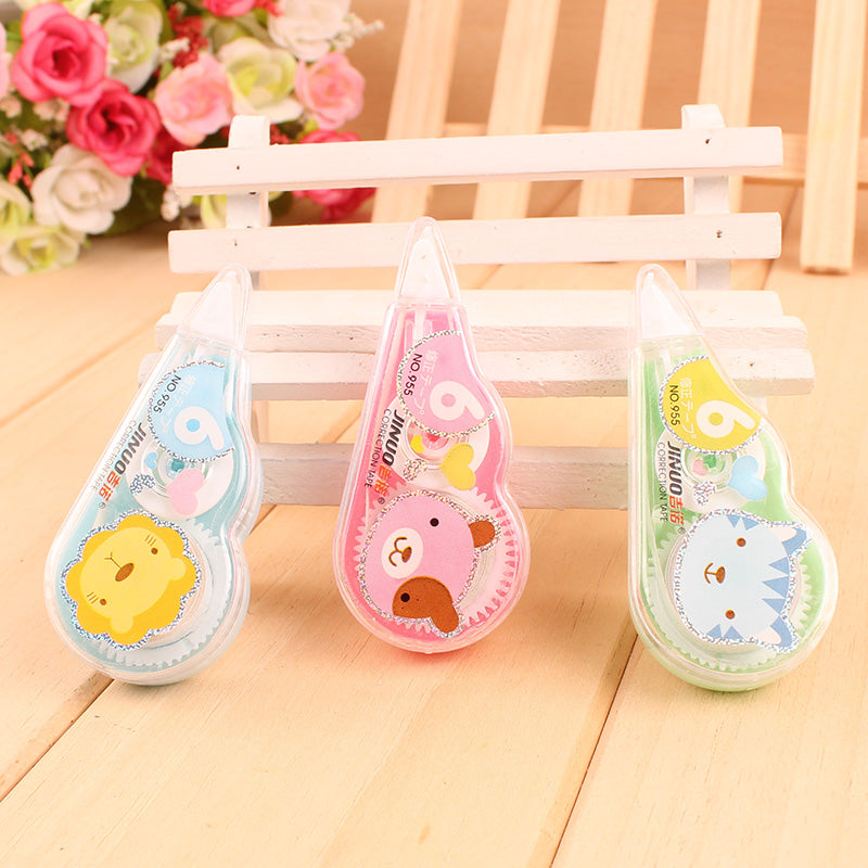 Kawaii Animal Mini Correction Tape Set