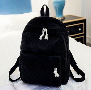 Classic Corduroy Backpack (6 Colors)