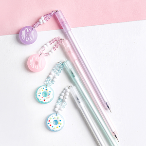 Donut Pendant Gel Ink Pen
