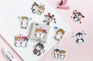Happy Chipmunk Stickers