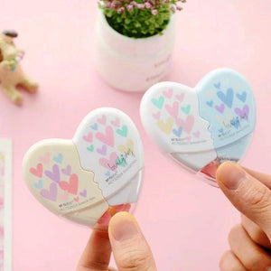 Heart Shaped Correction Tape 2-Pack
