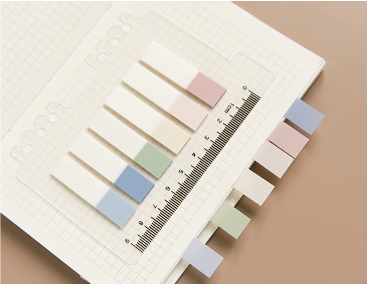 Insertable Index Sticky Notes