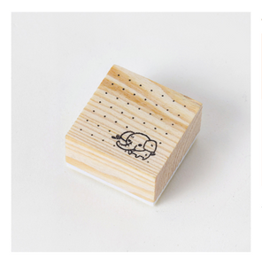 Journaling Friends Wooden Stamp L017