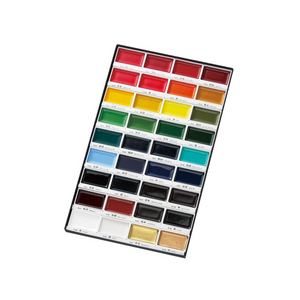Kuretake Gansai Tambi Watercolor Palette - 36 Color Set