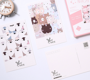Little Animal Friends Greeting Cards