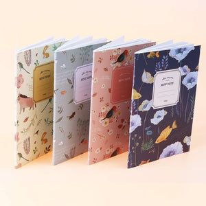 Mini Floral Notebook