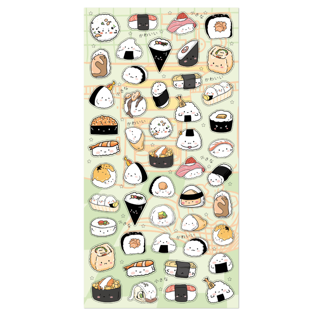 Nekoni Sushi Stickers