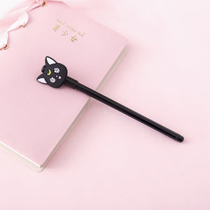 Sailor Moon Luna Cat  Cartoon Gel Pen L14197