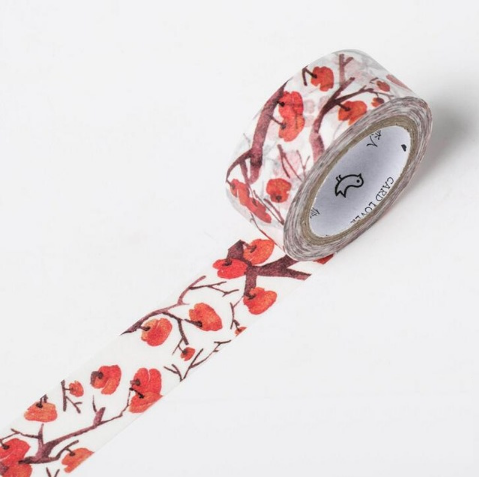 Shades of Red Washi Tape