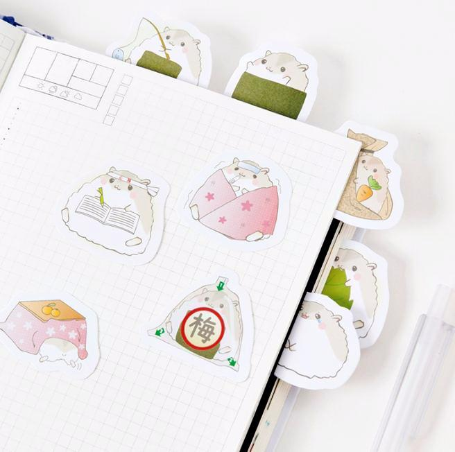 Silly Little Hamster Stickers