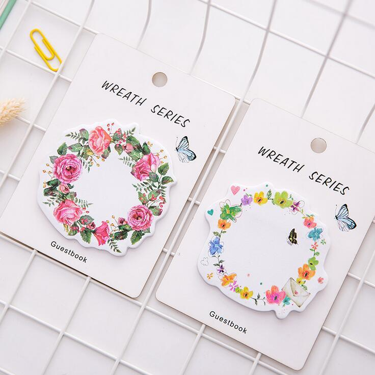Wreath Series Sticky Notes
