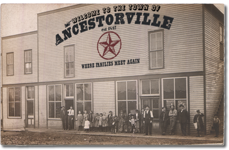 antique photography dealer, ancestorville genealogy town photo