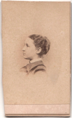 1860 Lucy Bliss Shumway Chapin CDV Photo Springfield Hampden County MA