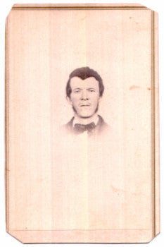 1860's Elias Worden Kellogg CDV Photo, Franklin, Delaware County NY