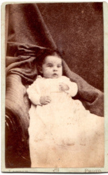1870's Edith Lanford Hunt CDV Photo, Portland, Maine (Moses Hunt)