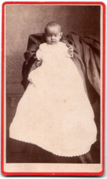 1870's Louise McCoy CDV Photo, Manchester, Delaware County, Iowa