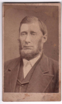 1870's Henry Butler CDV Photo, Indianapolis, Indiana - Ancestorville