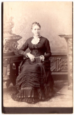 1880 Ann Crooks Cabinet Photo (sister Fannie Copeland) Providence RI