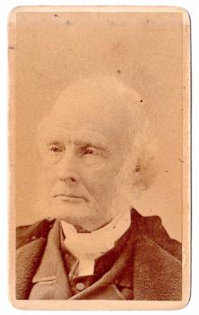 1870's Dr. James McCosh CDV Photo, President Princeton University NJ