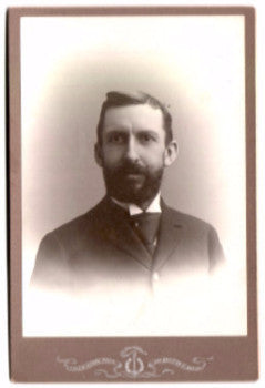 "1890 Professor William L. Coles ""Billy Coles"" Cabinet Photo Boston MA"