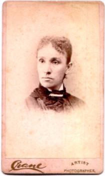 1870's Julia Hester Atwater CDV Photo, Holyoke, Hampden County, Mass