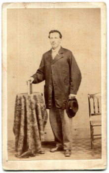 1860's RJ Shaffner CDV Civil War Photo, Corporal 84th, 57th, 105th PA