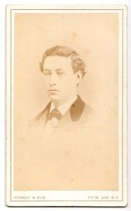 1872 Dr. E.C. Rafael, Enrique Carlos Rafael CDV Photo, NYC by Gurney