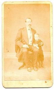 1870's Father Higgins CDV Photo, Titusville, Crawford County, Pennsylvania