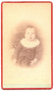 1870's-1880's Arthur L. Downing Family Signed and ID'd CDV Photo
