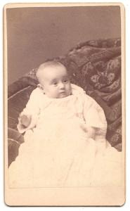 1891 Hazel D. Ware CDV photo, dau. of Sidney Ware, Cheshire County NH