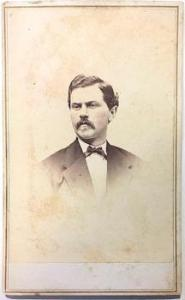 1860's Thomas Glenn CDV, Glens Falls, Warren County NY, POW Civil War