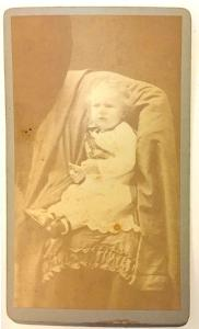 1880's Newell Goslee CDV Photo, Glastonbury, Hartford County CT
