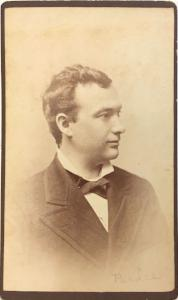 1877 Sheldon J. Pardee CDV Photo, Forestville, Chautauqua County, NY