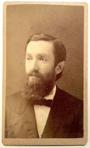 1870's Dr. William Soules Photo, Cazenovia College, Madison County NY