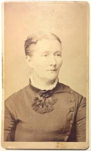 1870's Martha Chitchester Photo, Etta Bouten's Mother (or Chichester)