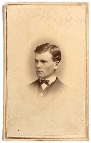 1860's Anthony Colby CDV Photo, Concord, Merrimack County, NH
