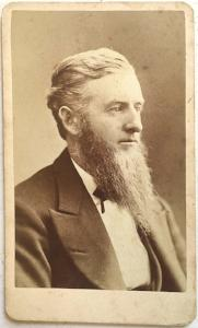 1870's Charles Morrison CDV Photo, Lowell, Middlesex County, MA
