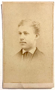 1870's Charles Howard Harry CDV Photo, Dentist, Norristown PA DAR SAR