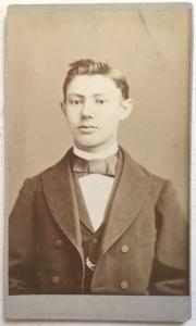 1880's Freidrich Hitzemann CDV Photo, Buckeburg Germany, Found in USA