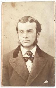 1870's James Teevan CDV Photo, Lynn, Essex County, Massachusetts