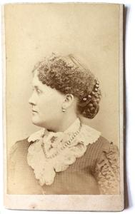 1870s Florence Dickinson Young Photo, Chippewa Wisconsin to Seattle WA