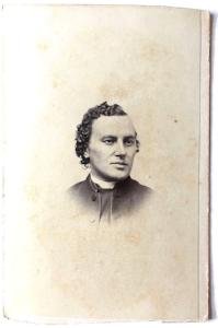 1868 Rev. H.L. Robinson, Henry Lorenzo Robinson Photo, Catholic Priest